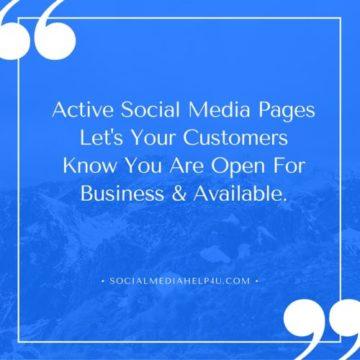 Spruce Up Your Social Media Presence.