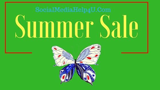 Social Media Management Summer Sale! Save Big!
