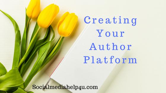 Creating your author platform
