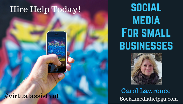 Social media management, coaching and training