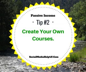 Passive income tip #2 - creating courses
