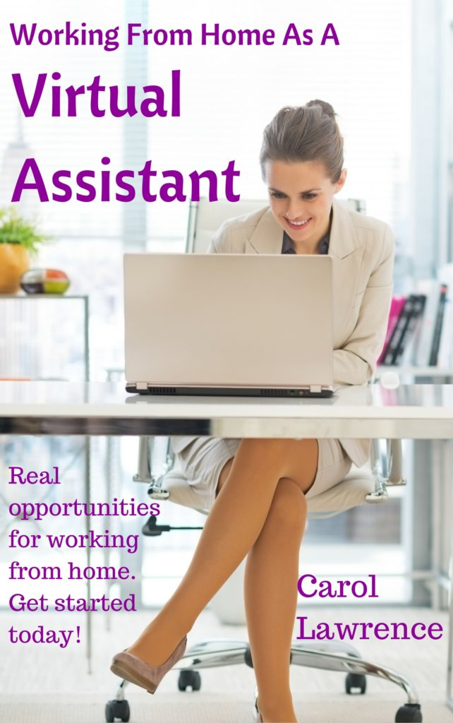 working from home as a virtual assistant