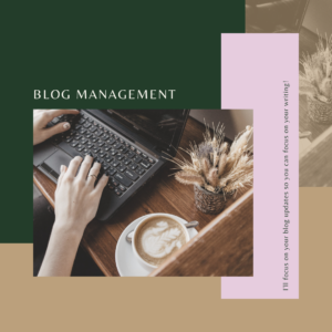 Blog Scheduling and Management
