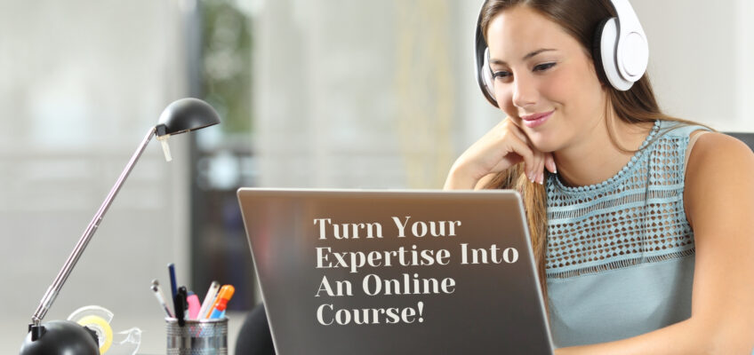 Turn your expertise into an online course