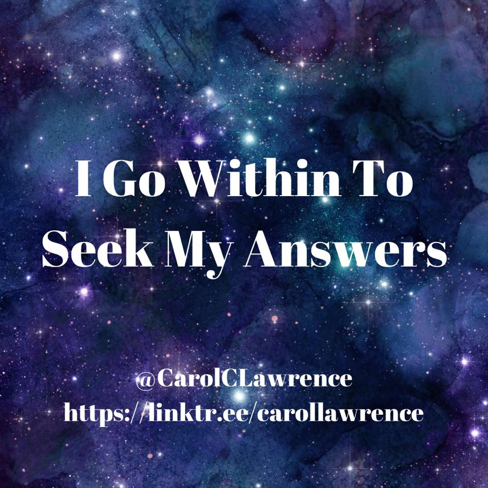 Going Within For Your Answers