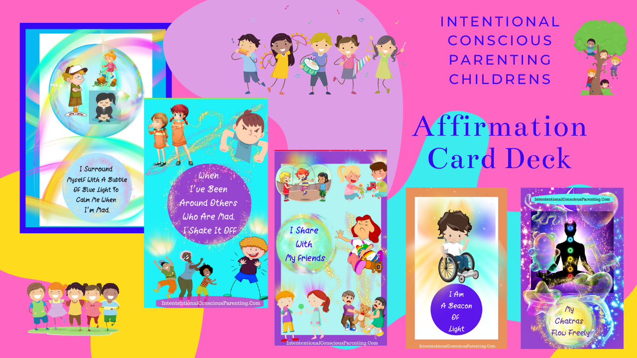 Children's Affirmation Card Deck