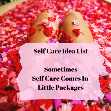 Downloadable Self Care List