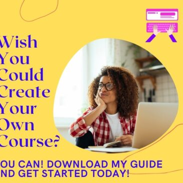 5 Tips For Building Your First Online Course
